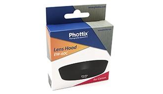 бленда Phottix EW-60C для Canon 18-55 is