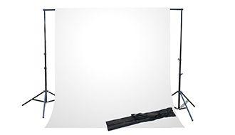 Фон для фото и видео съёмки(белый)