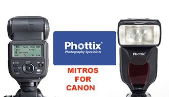 Вспышка Phottix Mitros для Canon