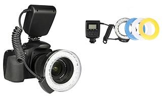 Макро вспышка Travor Led RF-550e для Canon/Nikon