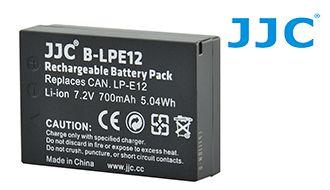 Аккумулятор JJC B-LPE12 для Canon EOS 100 D/EOS M