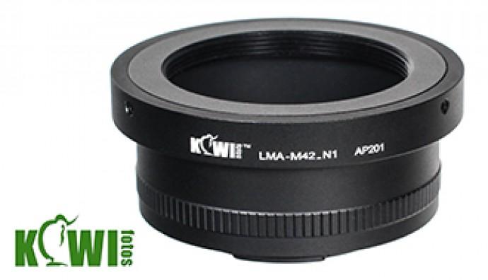 Переходник для установки объективов М42 на ф/а Nikon N1