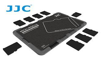 Кейс-визитка JJC  для карт памяти MicroSD