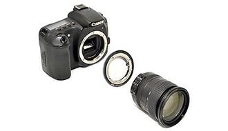 Адаптер Kiwifotos для установки объективов Nikon на ф/а Canon