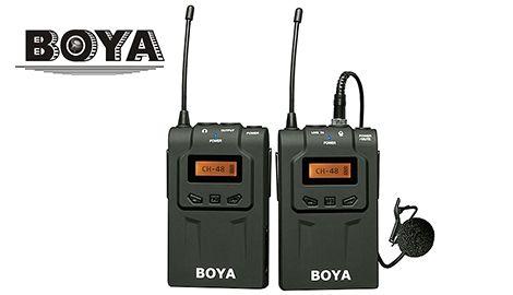Петличный радио микрофон Boya BY WM-6