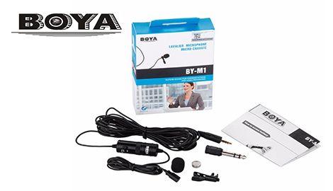 Микрофон петличный Boya M1