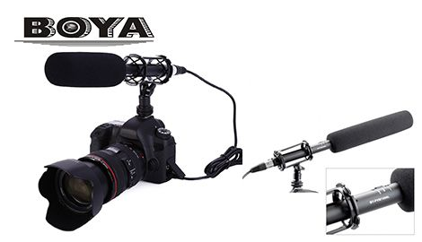 Микрофон накамерный Boya BY-PVM1000L