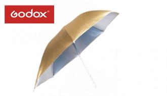 Фотозонт двусторонний Godox 101 cm (золото/серебро)