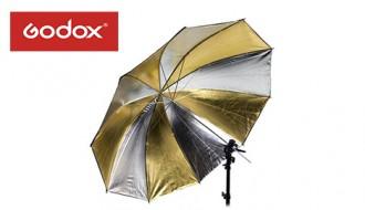 Фотозонт комбинированный золото/серебро Godox 101 cm