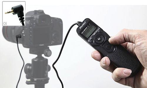 Пульт с таймером Phottix TR-90 (C6) для Canon EOS 350/400/550/600/700D