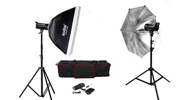Студия импульсного света Godox DS-300(Duo kit)