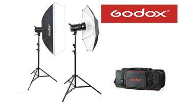 Студия импульсного света Godox SK-400 (Duo kit)