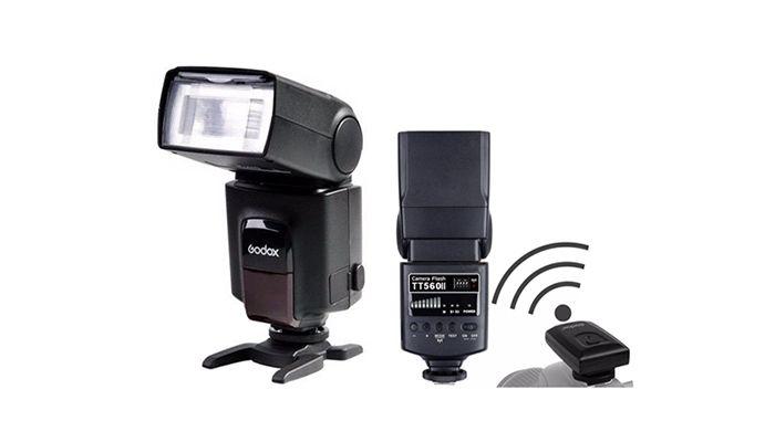 Вспышка универсальная Godox TT-560 II (для Canon/Nikon)