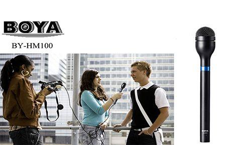 Репортёрский микрофон Boya BY-HM100