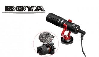 Микрофон универсальный Boya BY-MM 1