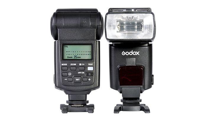 Вспышка Godox TT 680 N для фотоаппаратов Nikon
