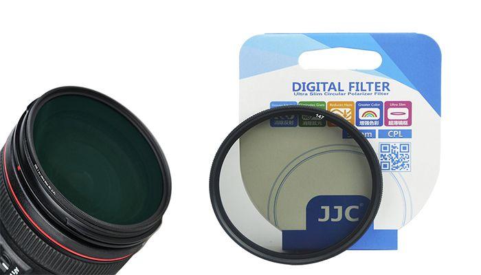 Поляризационный светофильтр JJC C-PL Ultra Slim 77 mm.