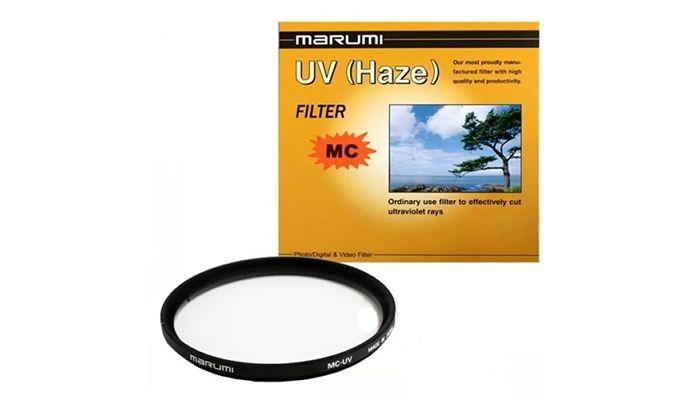 Ультрафиолетовый светофильтр Marumi UV 58 mm.