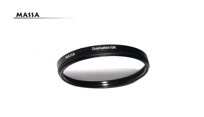 Нейтрально-серый градиентный светофильтр Massa 52 mm.