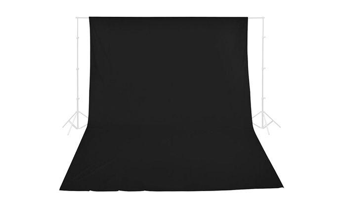 Фон для фото и видео съёмки(черный)