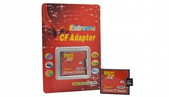 Адаптер-переходник с MicroSD на CF(CompactFlash)