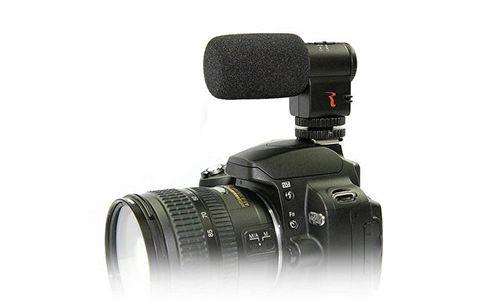 Накамерный стерео микрофон Rowa MIC 109