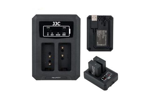 USB зарядное устройство JJC DCH- LPE 17