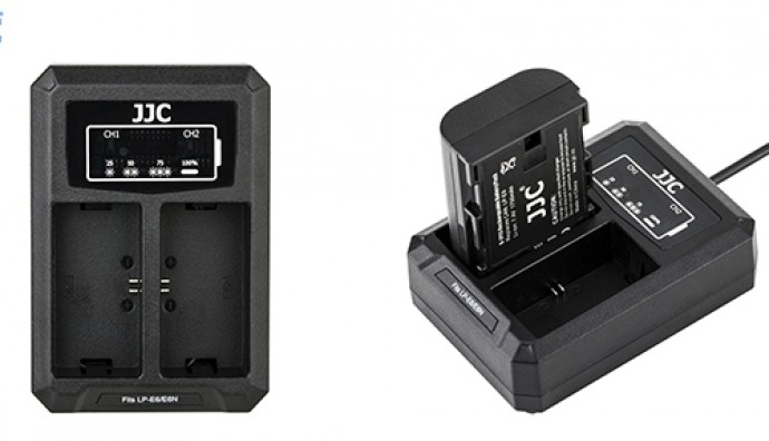 USB зарядное устройство  JJC DCH-LPE6