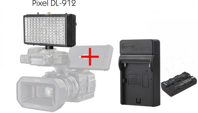 Накамерный осветитель Pixel Sonnon DL-912 KIT