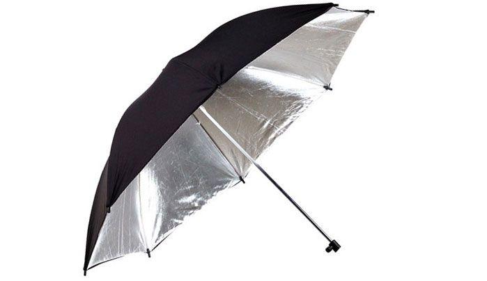 Студийный зонт-отражатель 101см
